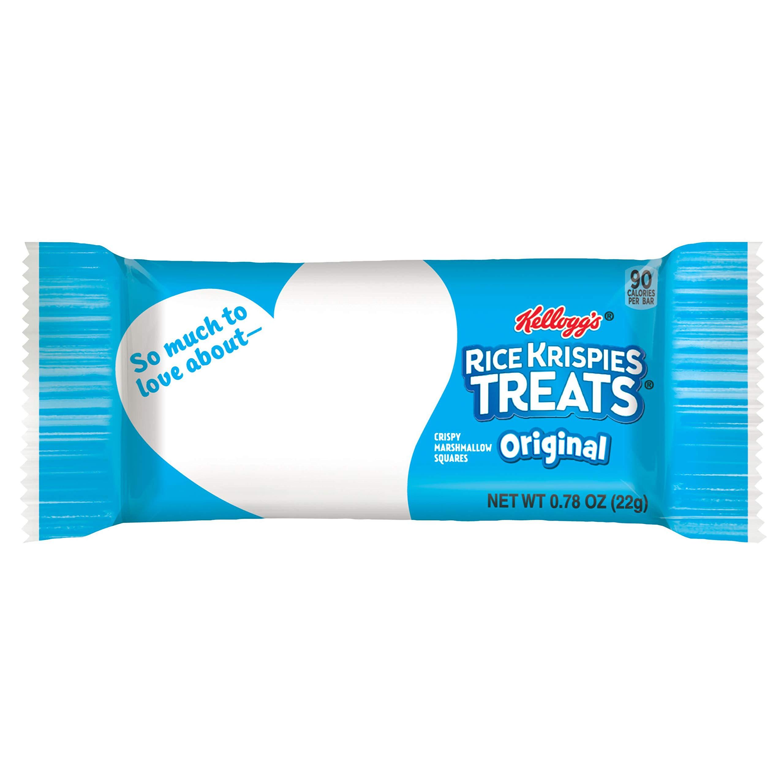 Kellogg's Rice Krispies Treats, Crispy Marshmallow Squares, Original, Value Pack, 0.78 oz Bars(16 Count) by Rice Krispies (Image #10)