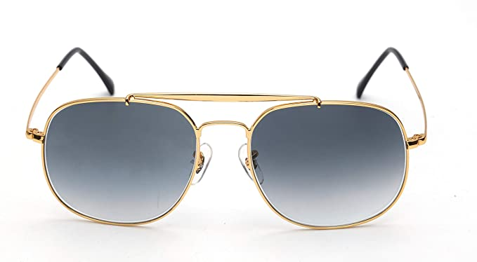 978ec7c35 Image Unavailable. Image not available for. Color: Classic Trendy Stylish Metal  Square Sunglasses for mens women. Glass Optical Lenses ...
