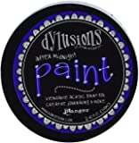 Ranger DYP50940 Dylusions by Dyan Reaveley Blendable Acrylic Paint, 2 oz, After Midnight