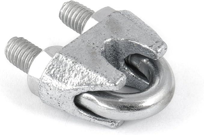 6 x SEILKLEMMEN 6mm DIN 741 /ÖSE verzinkt Stahlseil Forstseil Windenseil Seil Draht Stahl Drahtseilklemmen Drahtseil Drahtseilklemme Klemme Anschlagseil Spannschl/össer Spannschlo/ß 2 x SPANNSCHLOSS M6 HAKEN 15m DRAHTSEIL SET 6mm 6x19+FC