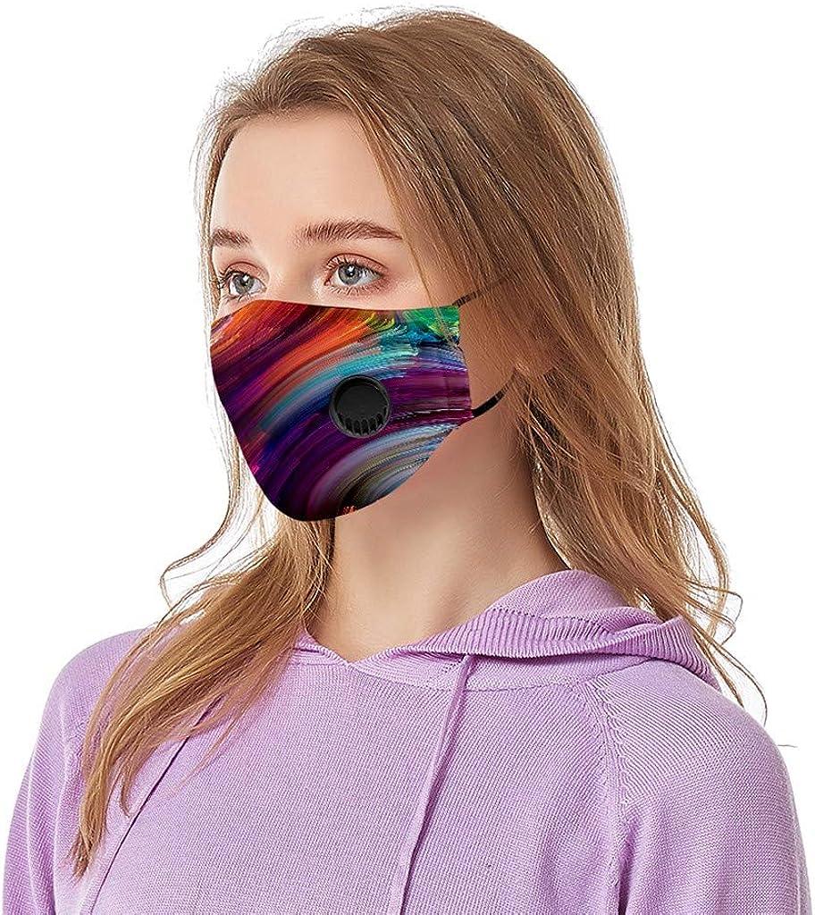 Unisex Face Cotton Washable Breathable Women Men Reusable Bandanas Replaceable Cover Balaclava Outdoor DA197