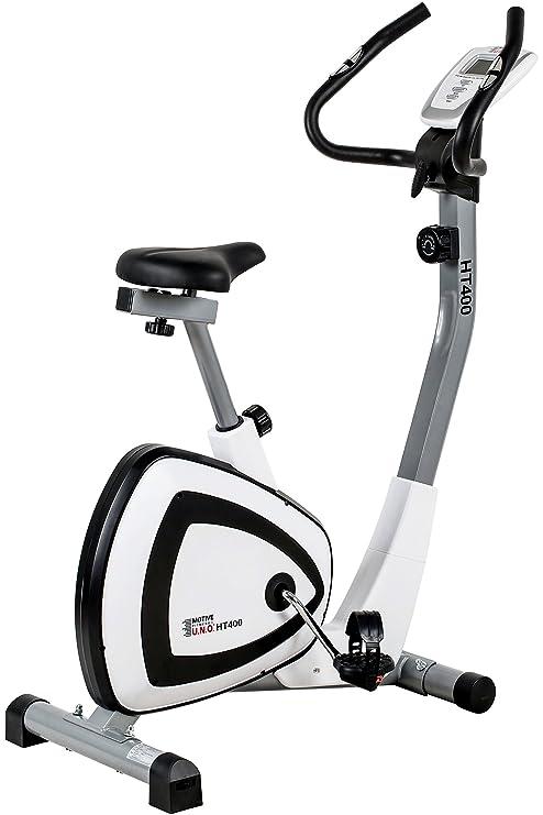 Motivos Adultos HT 400 - Bicicleta estática, Color Blanco y Negro ...