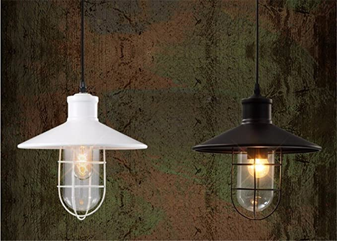 Gabbia pc paralume vintage luci pendente in ediosn loft lampada