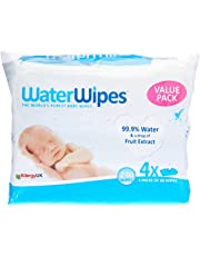 WaterWipes WaterWipes 4x3 60Pack (Value Pack), 4 Packs (240 Wipes)2.1 kilograms