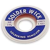 Aven 17542 Desoldering Wick, 2.5mm Width, 5' Length