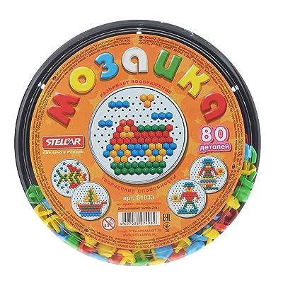Stellar Mosaic, 80 Elements. 01033 Мозаика, 80 элементов. 01033 Mozaika, 80 elementov.: Toys & Games