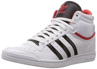 adidas originals frauen zehn hi schlanke bis w ftwr white, kern