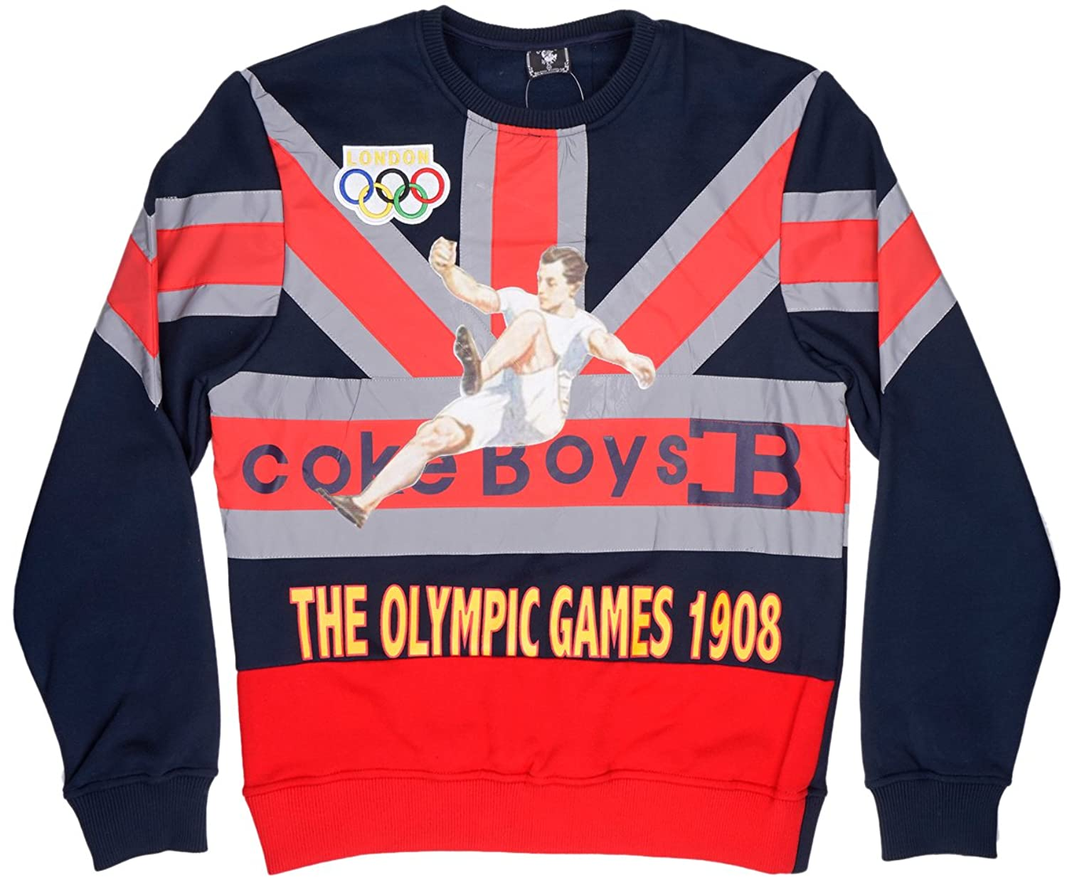 f43dd1b901e Coke boys london olympic games mens pullover in navy at amazon mens clothing  store jpg 1500x1240