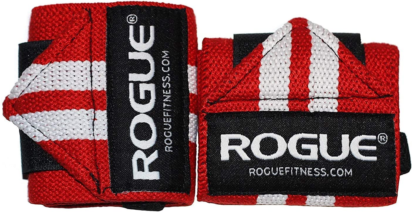 Red, 12 Rogue Fitness Wrist Wraps Available in Multiple Colors