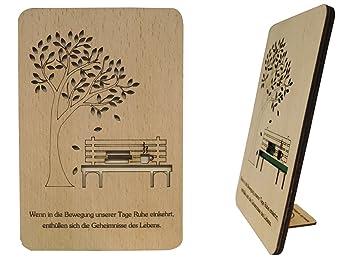 Lin de tarjetas de madera