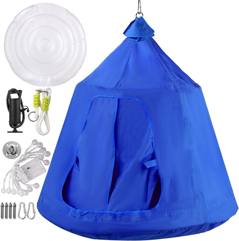 HQ Suspended Tree Tent Ultralight Hanging Tree House Camping Hammock Waterproo