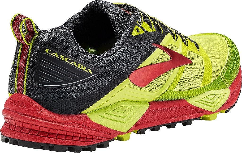 CASCADIA 12 AMARILLO ROJO 1102431D728: Amazon.es: Zapatos y complementos
