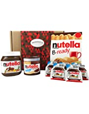 Nutella Ultimate Selection Box - 18 Items - The Perfect Nutella Lovers Gift. Hamper Exclusive To Burmont's