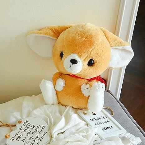 Amazon.com: Bonita almohada de felpa de zorro de imitación ...