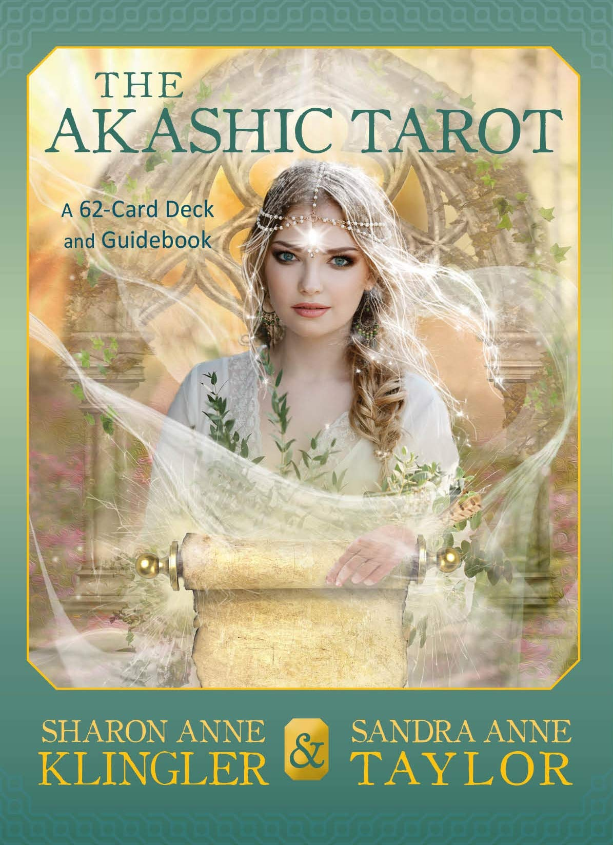 The Akashic Tarot: A 62-card Deck and Guidebook: Klingler, Sharon Anne, Taylor, Sandra Anne: 9781401950446: Amazon.com: Books
