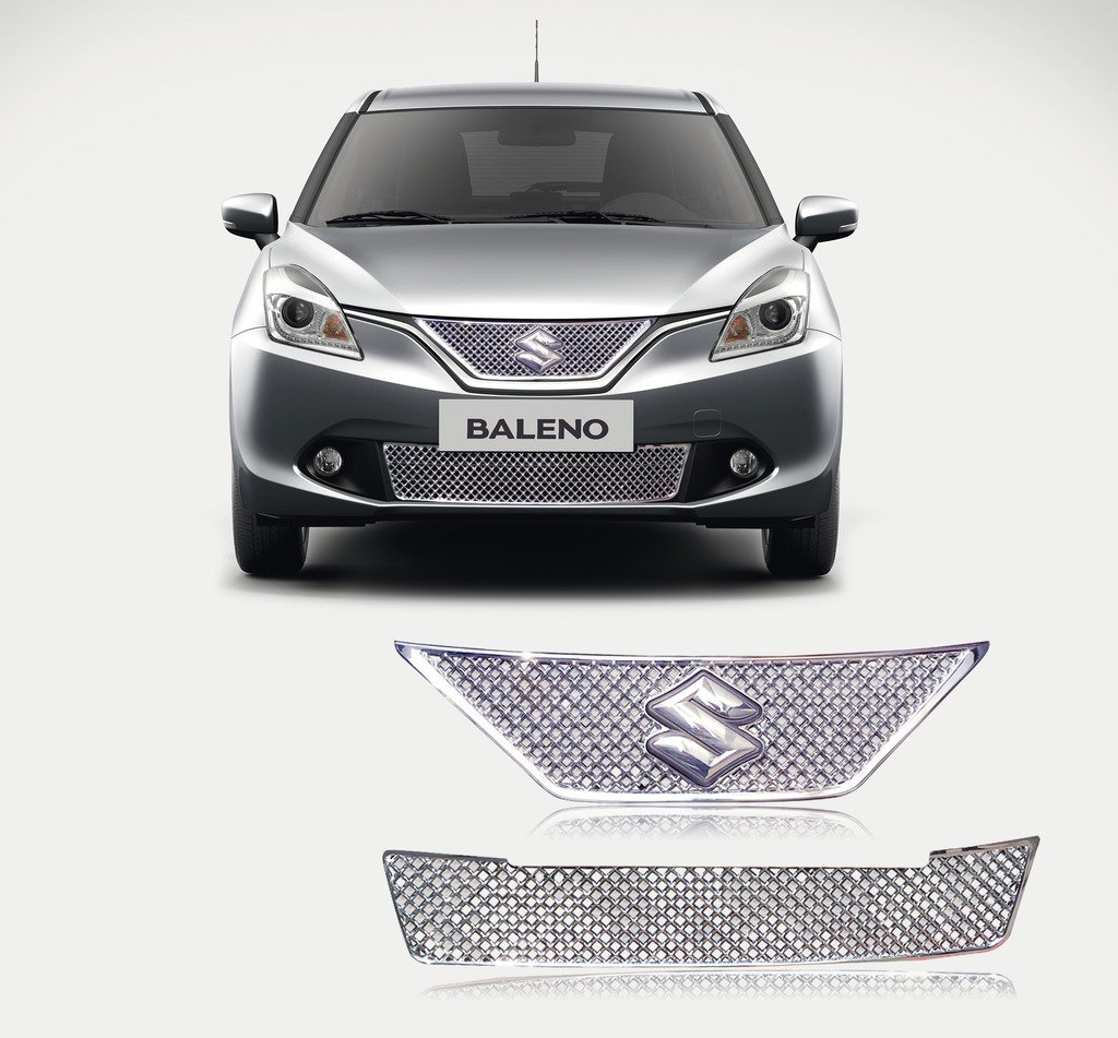 All Types baleno car images : Autopearl Premium Quality Car Chrome Front Grill For - Maruti ...