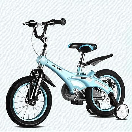 DT Bicicleta para niños 12/14/16 Pulgadas Hombre y Mujer Bicicleta para bebés