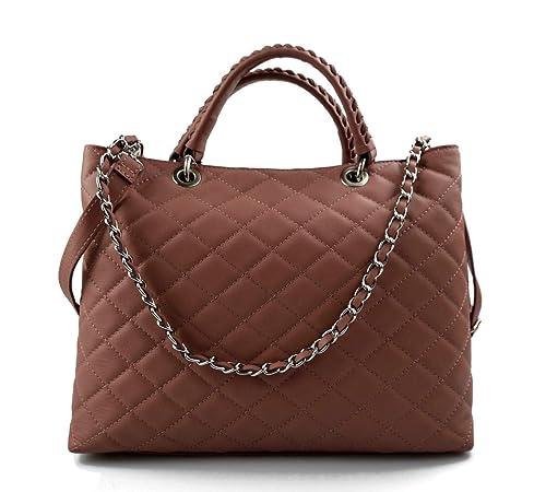 Bolsa cuero mujer bolso espalda en piel mujer bolso ...