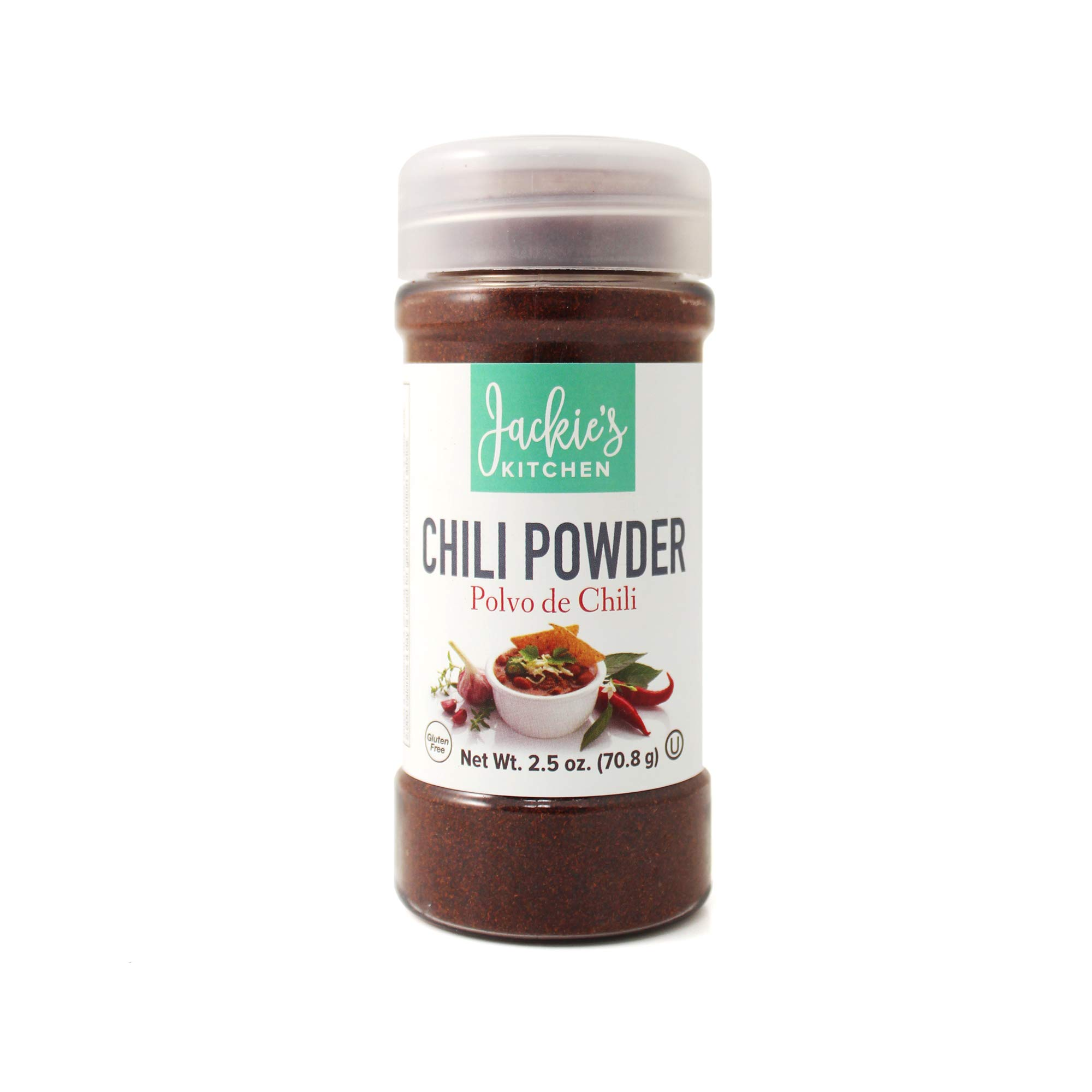 Jackie's Kitchen Chili Powder, 2.5 Ounce by Jackie's Kitchen (Image #1)