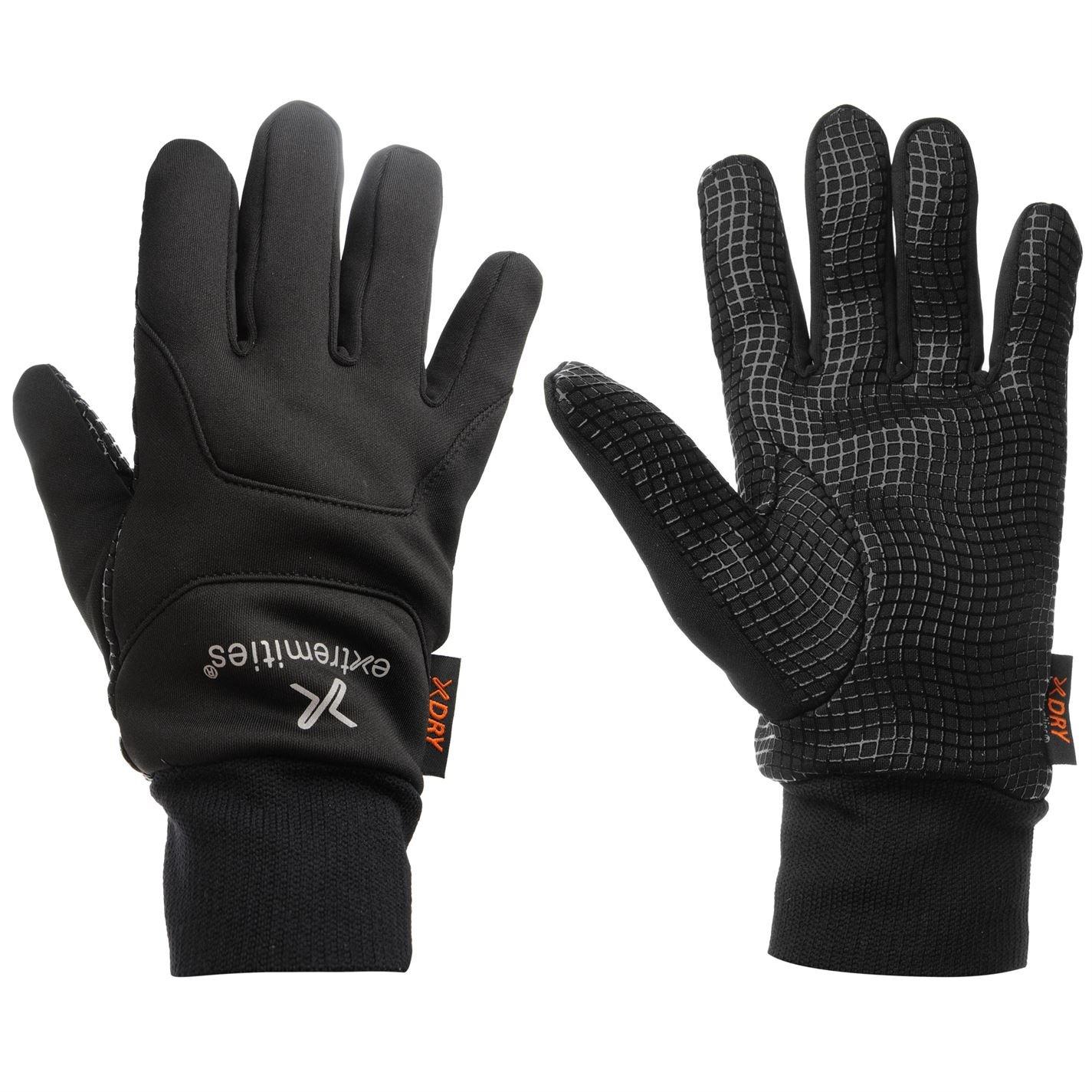 Damen Handschuhe Neu Extremities Wasserdichter Sticky Power Liner Handschuh Schwarz