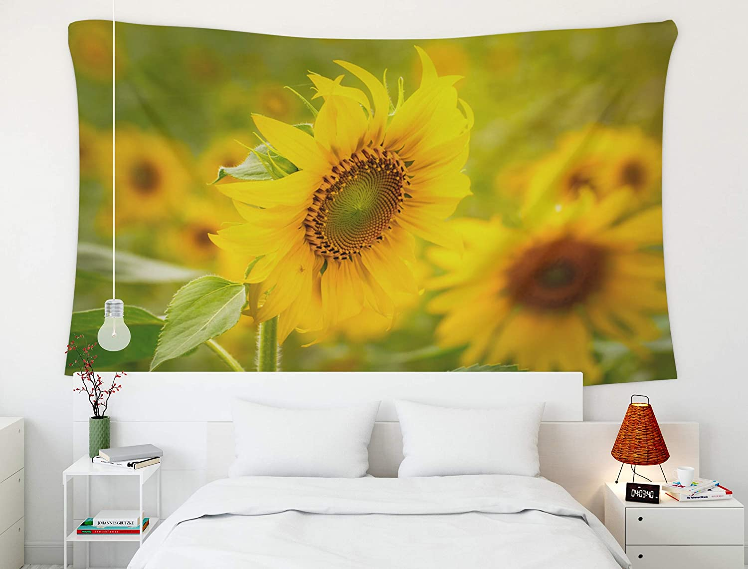 Wall Hanging Tapestry DIY Home Decor Tropical Flamingo Sunflower Many Design New