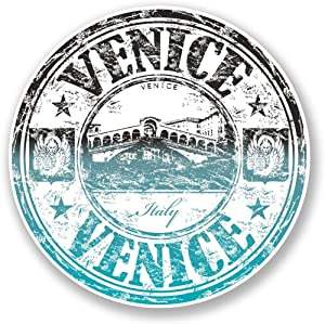 Venice Italy Vinyl Sticker Decal Laptop Car Bumper Sticker Travel Luggage Car iPad Sign Fun 5""