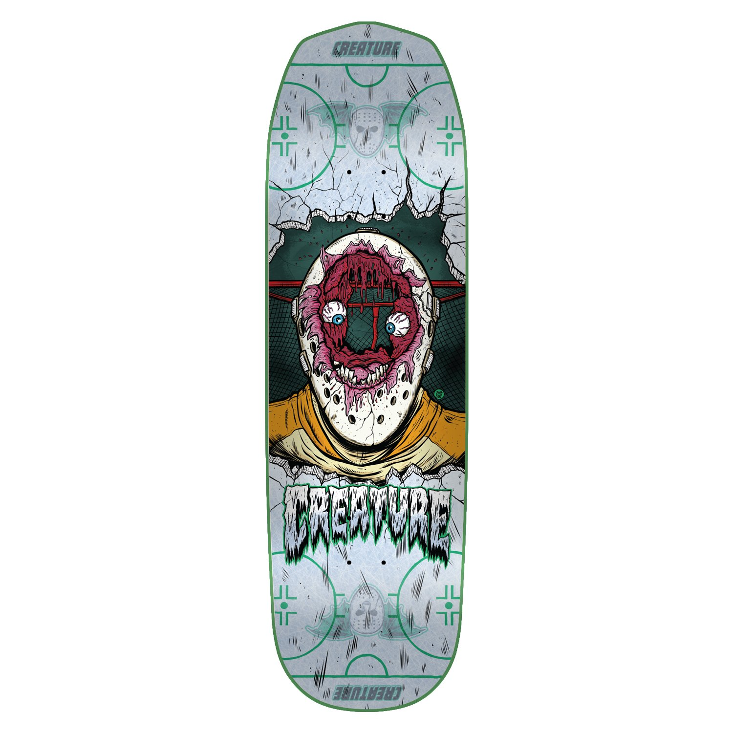 Creature Skateboard Deck Slapshot SM EverSlick 8.2'' by Creature (Image #1)