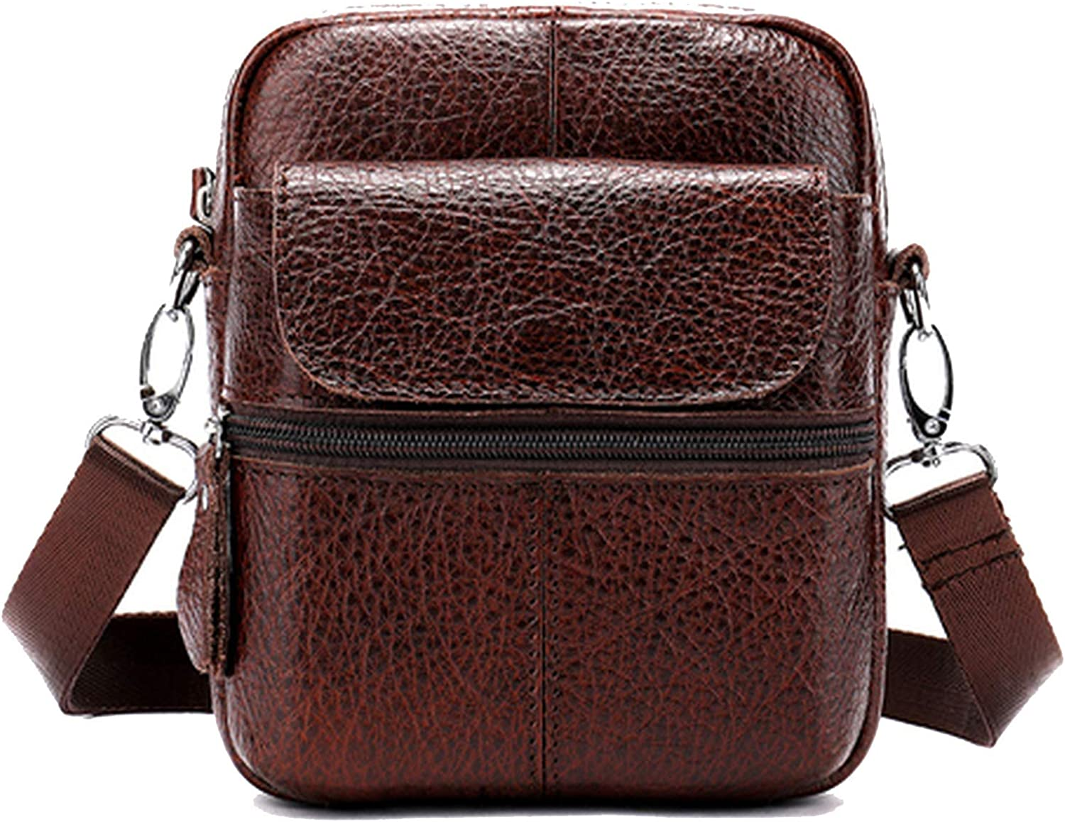 Messenger Bag MenS Shoulder Genuine Leather Bags Flap Small Male Man Crossbody Bags For Men Natural Leather Bag,8628coffee,Russian Federation