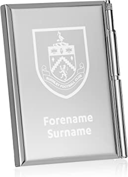 Official Personalised Burnley FC Crest Address Book
