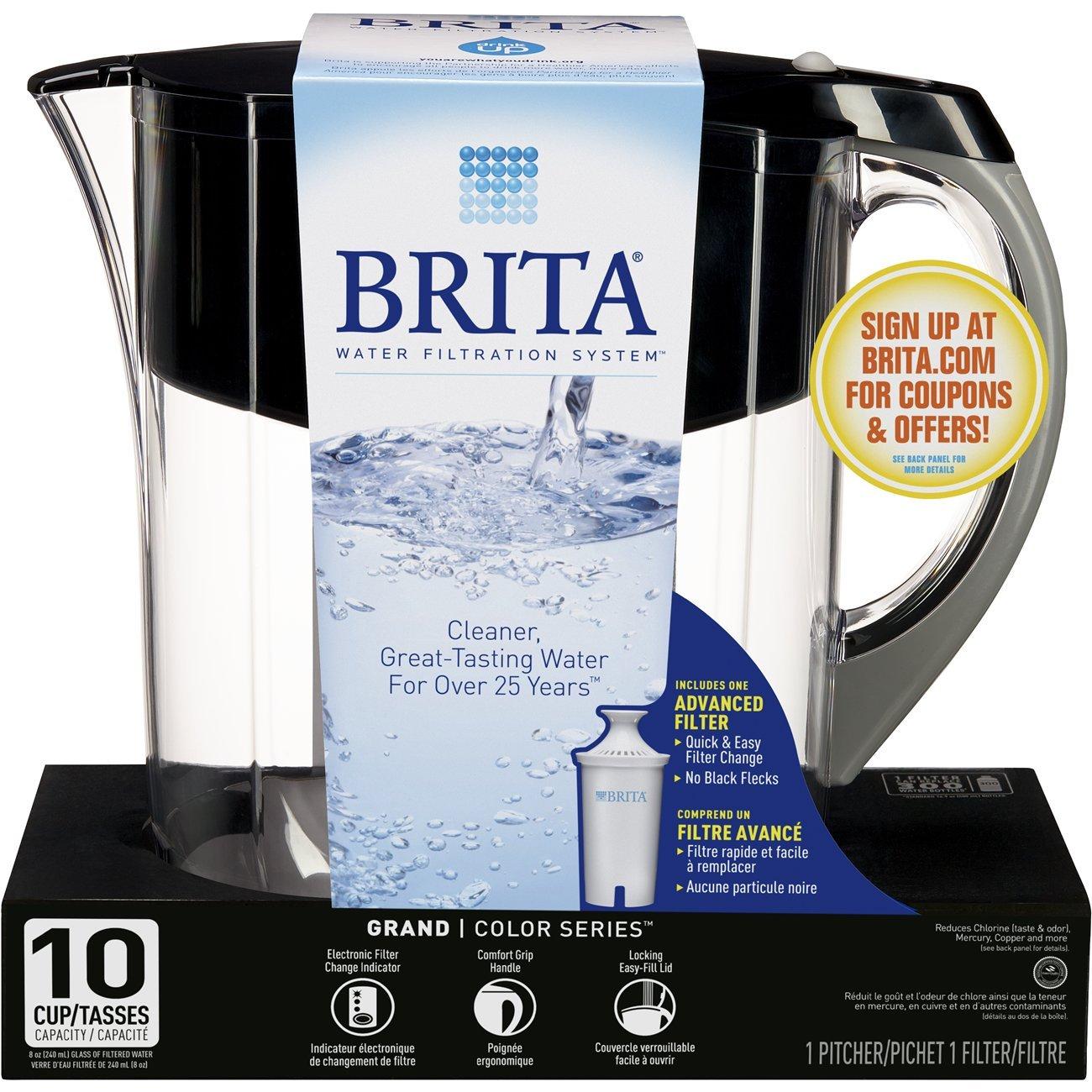 Brita Grand Water Filter Pitcher by Brita (Image #4)