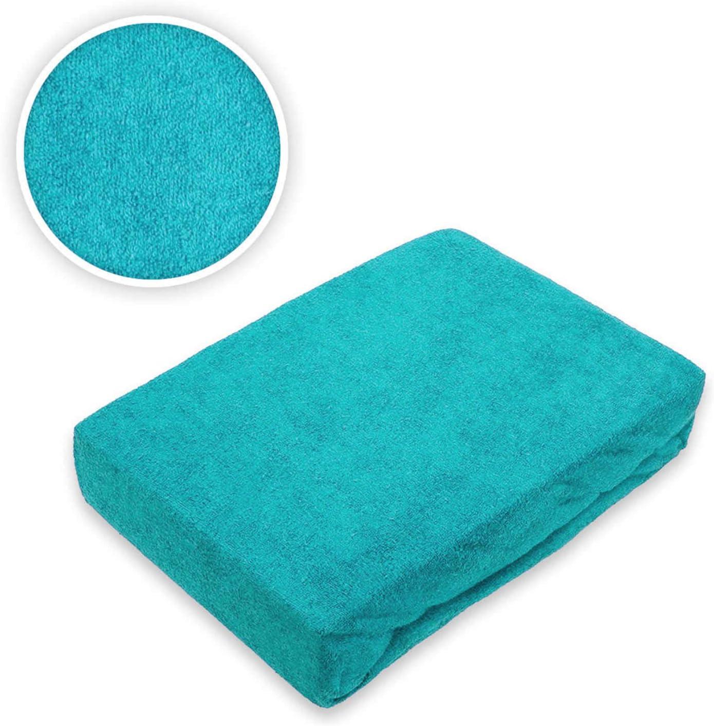 Exklusiv Heimtextil Drap-housse en tissu /éponge avec /élastique lilas 60-70 x 140 cm