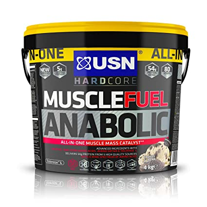 USN Muscle Fuel Anabolic Cookies & Cream - 4000 gr