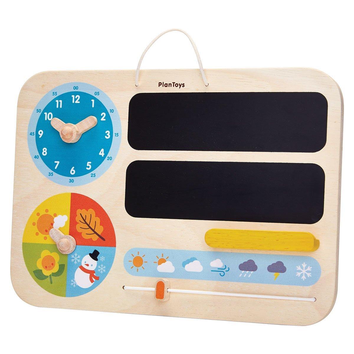 calendarios para niños pizarra a la libreta