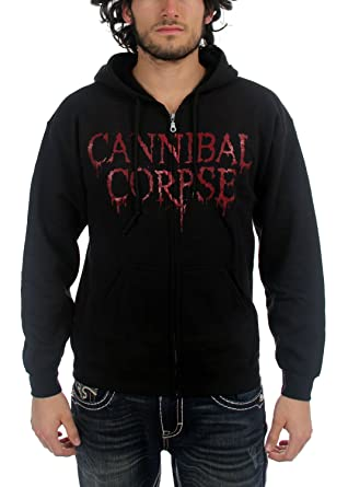 1e53aca9838 Cannibal Corpse - Butchered At Birth Mens Hoodie In Black