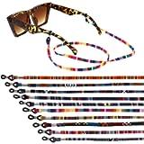 Cerolopy 10 Pcs Eyeglasses Strap Eyewear Retainer, Sunglasses Reading Glasses Holder Strap, Glasses Straps Spectacles…
