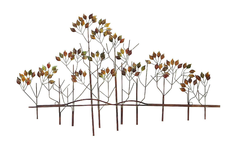 bombayjewel Tree of Life Metal Wall Art Sculptures Home Decor Brown Bronze