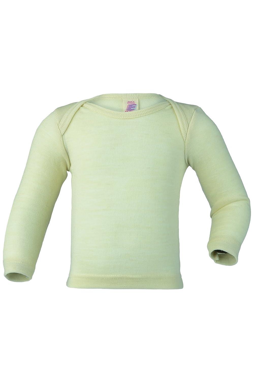 Engel 100% Organic Merino Wool Envelope-Neck Vest Long-Sleeve (3. 12-18 Months - EU 86/92) kb407510
