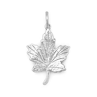 Amazon sterling silver ivy leaf charm jewelry sterling silver ivy leaf charm mozeypictures Image collections