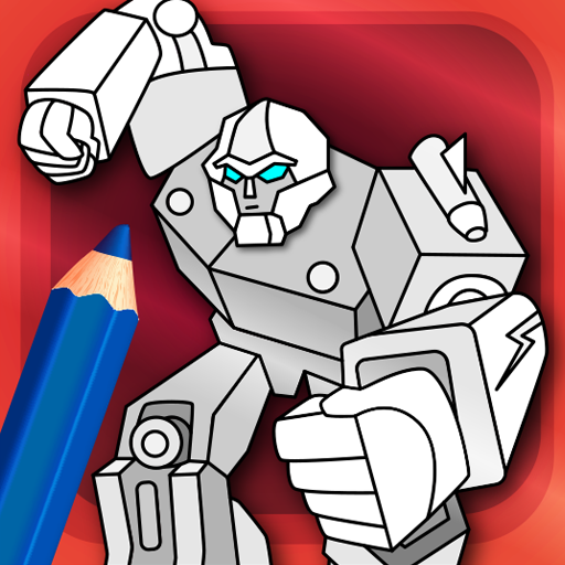 Amazon Com Robots Coloring Pages With Animated Effects Appstore For Android