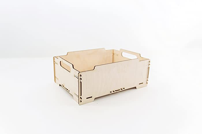 Wooden Crate Storage Box Wooden Box Wood Crate Toy Storage