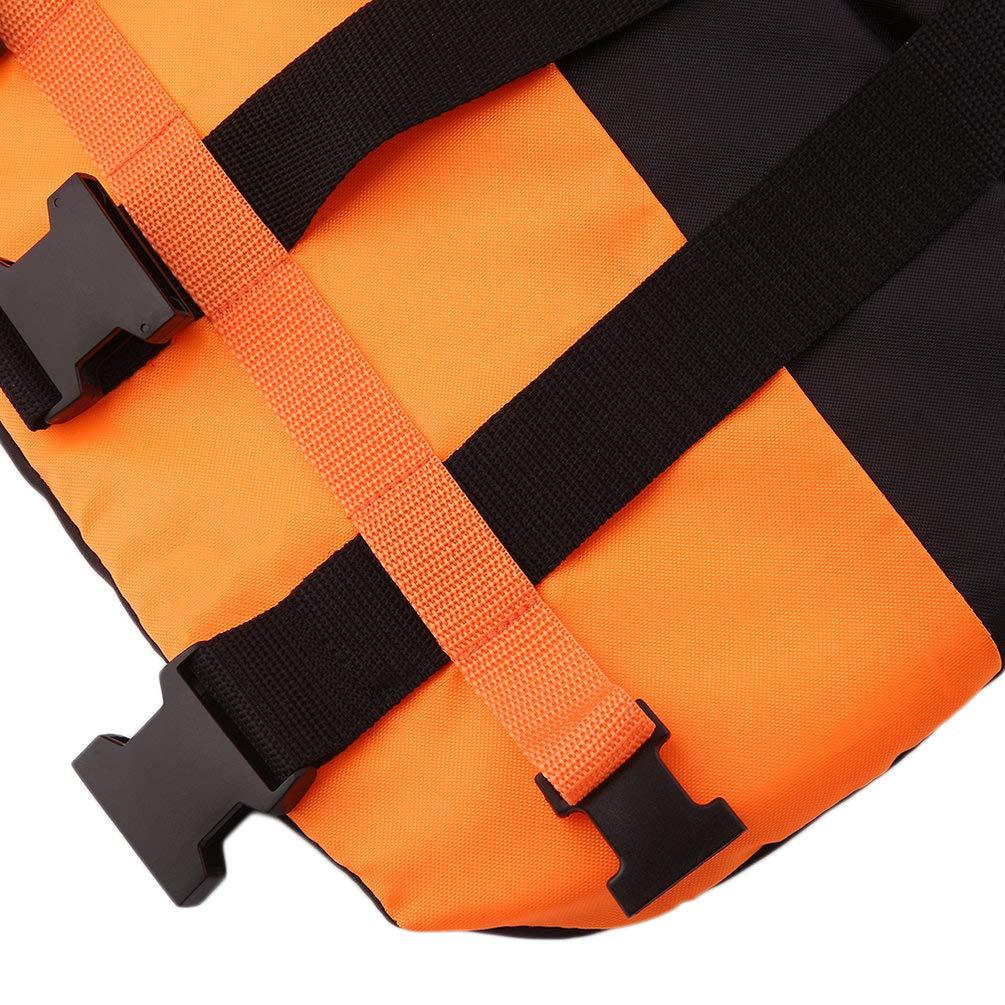 Whistle New For Adult Bubbry Orange Foam Swimming Aid Sailing Life Jacket Vest