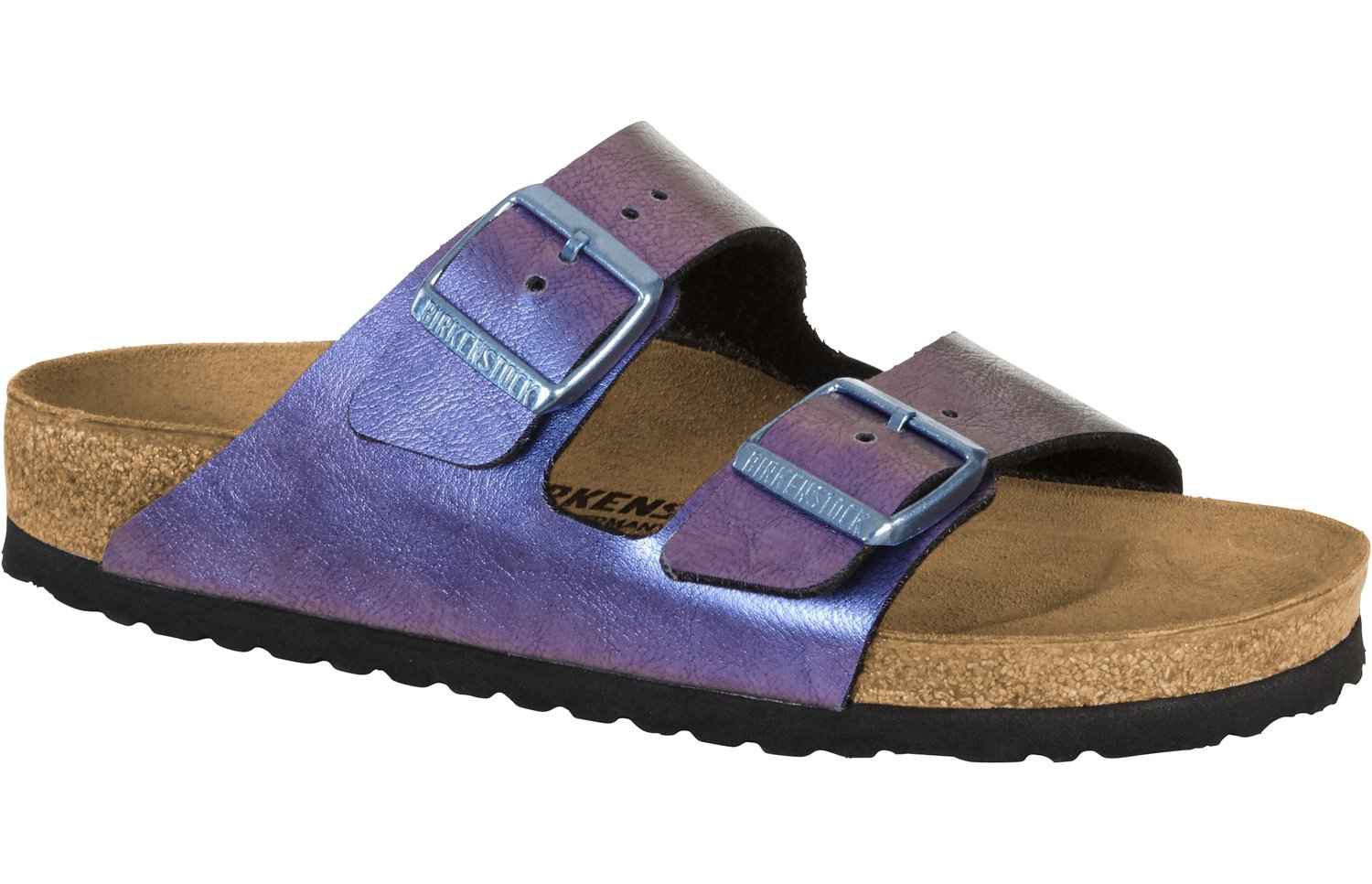 BIRKENSTOCK Damen Arizona Sandalen  41 EU|Graceful Gemm Violet (1012395)