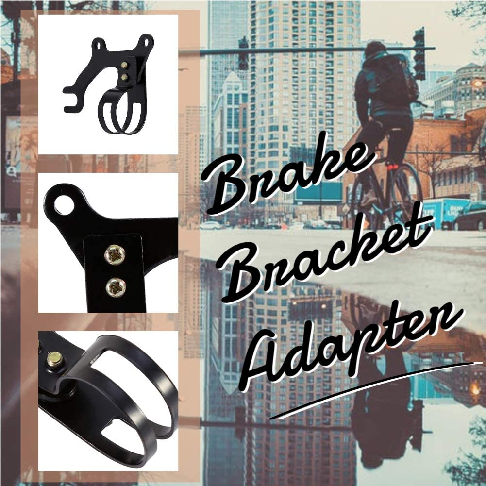 Details about  /Bicycle Brake Adapter Durable Delicate Cycling Brake Adaptor 2 Bolts Process
