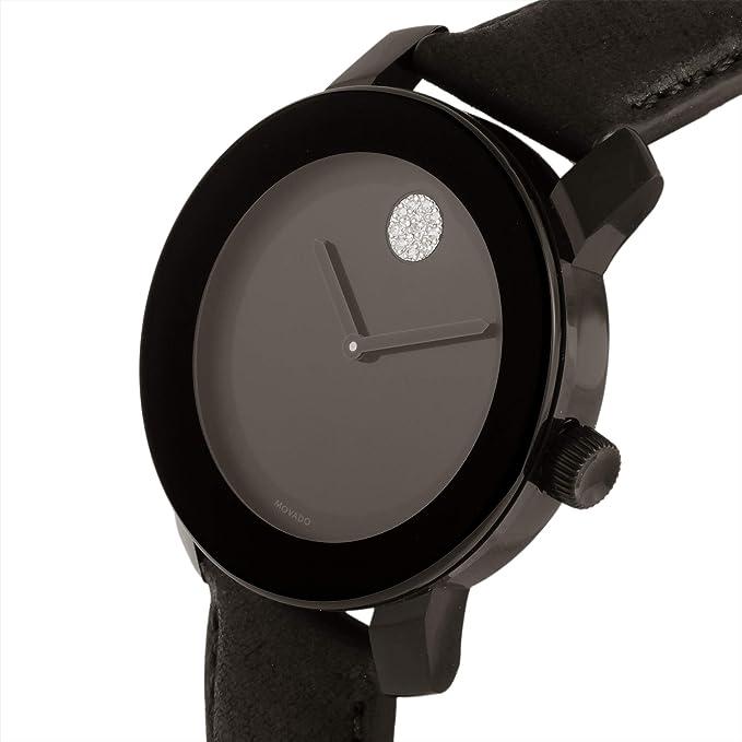 Movado Ladies Watch Bold Black Dial 