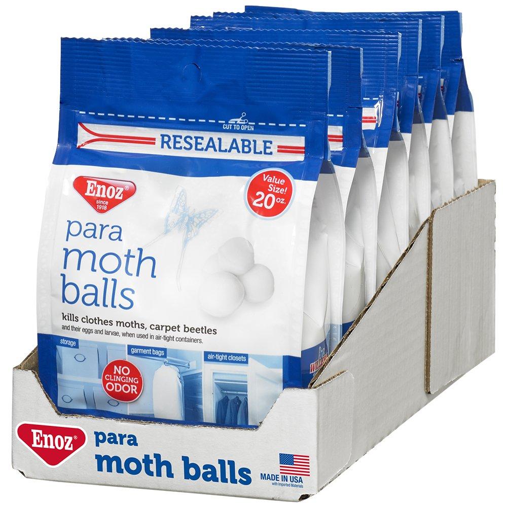 Enoz para Moth Balls - 20 oz. Bag (6)