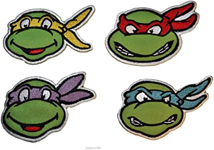 Amazon.com: Teenage Mutant Ninja Turtles Conjunto de cuatro ...