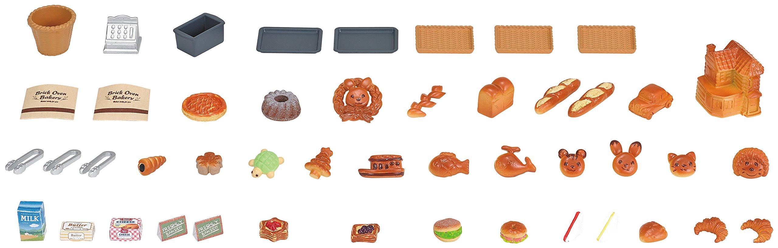 Juego de panadería para horno de ladrillos Sylvanian Families, multicolor