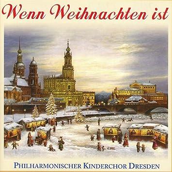 Dresden Weihnachten.Wenn Weihnachten Ist