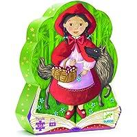 Djeco Dekoratif Puzzle 36 Parça Little Red Riding