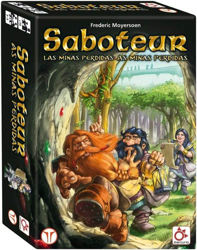 Mercurio Saboteur: Las Minas Perdidas - Juego de Mesa [Castellano ...